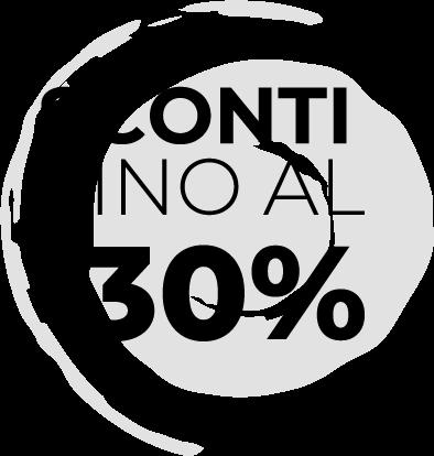 sconto abbigliamento uomo donna -30%